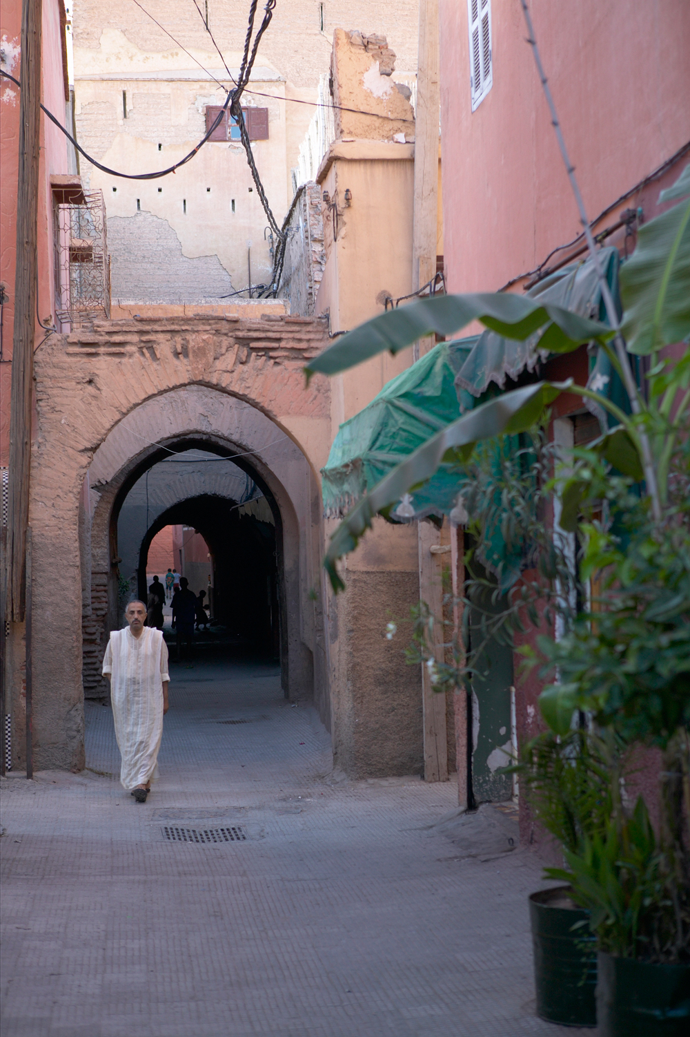 Gasse in Marrakech