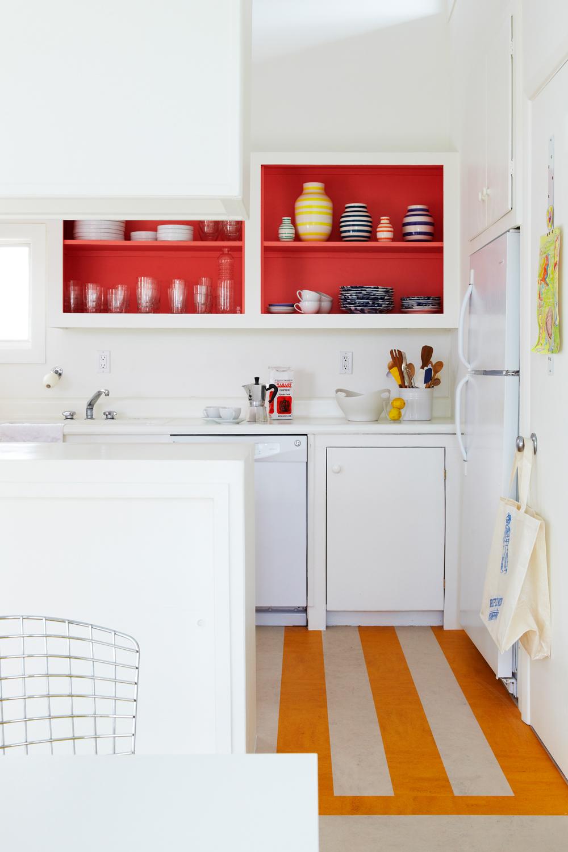 Küchenboden am Meer