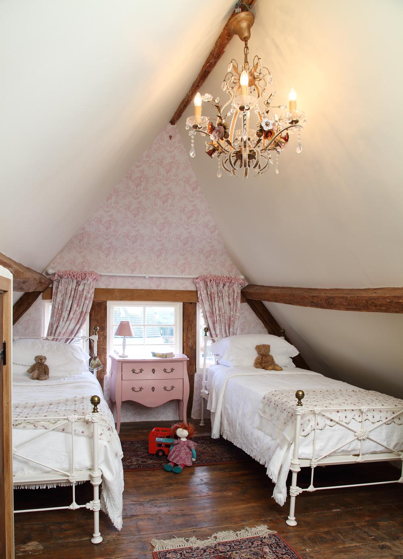 Schlafzimmer Cottage