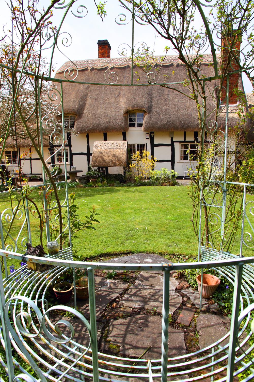 Aussicht Garten Cottage