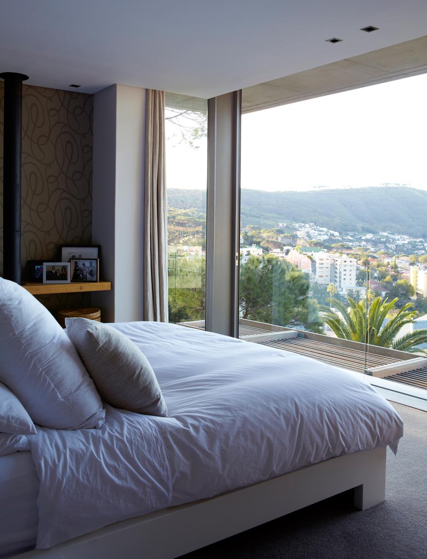 Schlafzimmer Aussicht Kapstadt