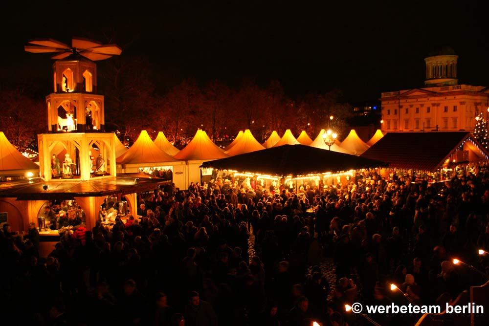 Schloss Charlottenburg, Weihnachtsmarkt
