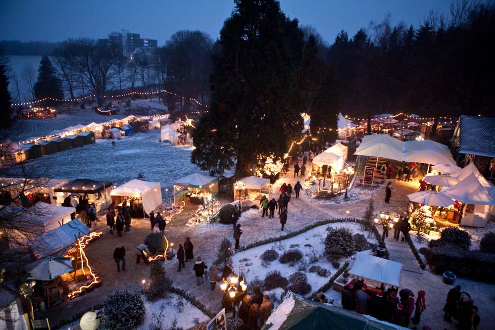 Schloss Grünewald, Weihnachtsmarkt