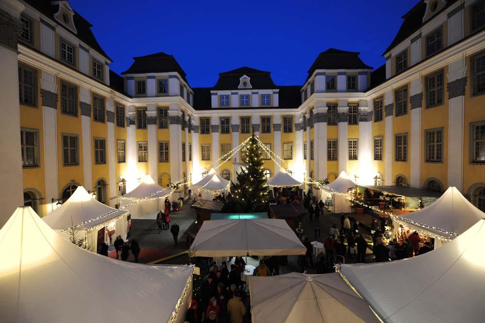 Neues Schloss Tettnang, Weihnachtsmarkt