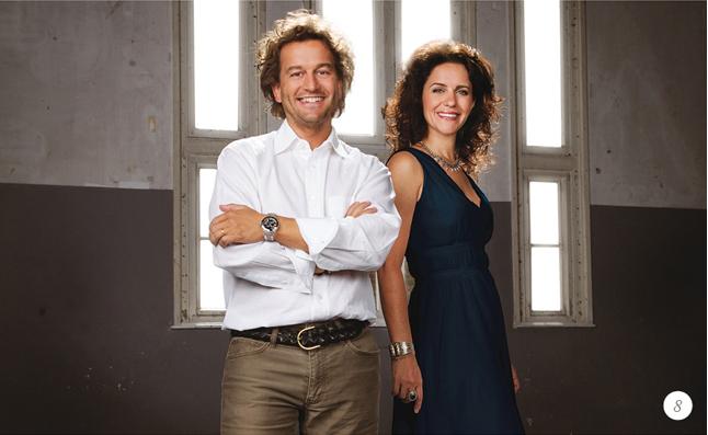 Christian Fischbacher und Camilla Fischbacher