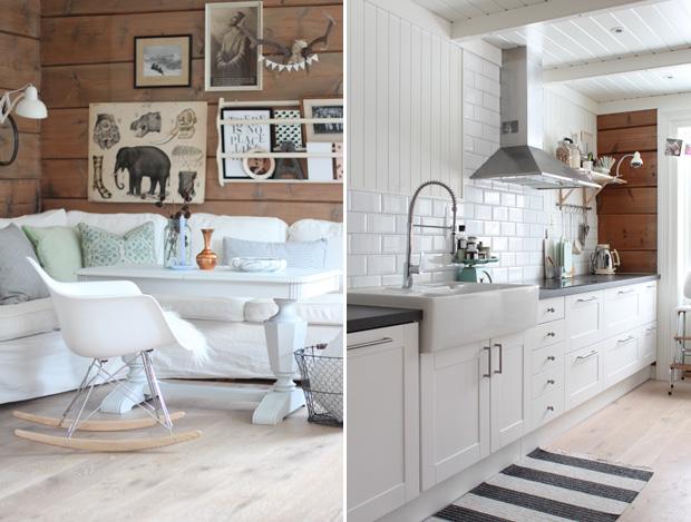 Mein OSlo: Wohnzimmer und Küche