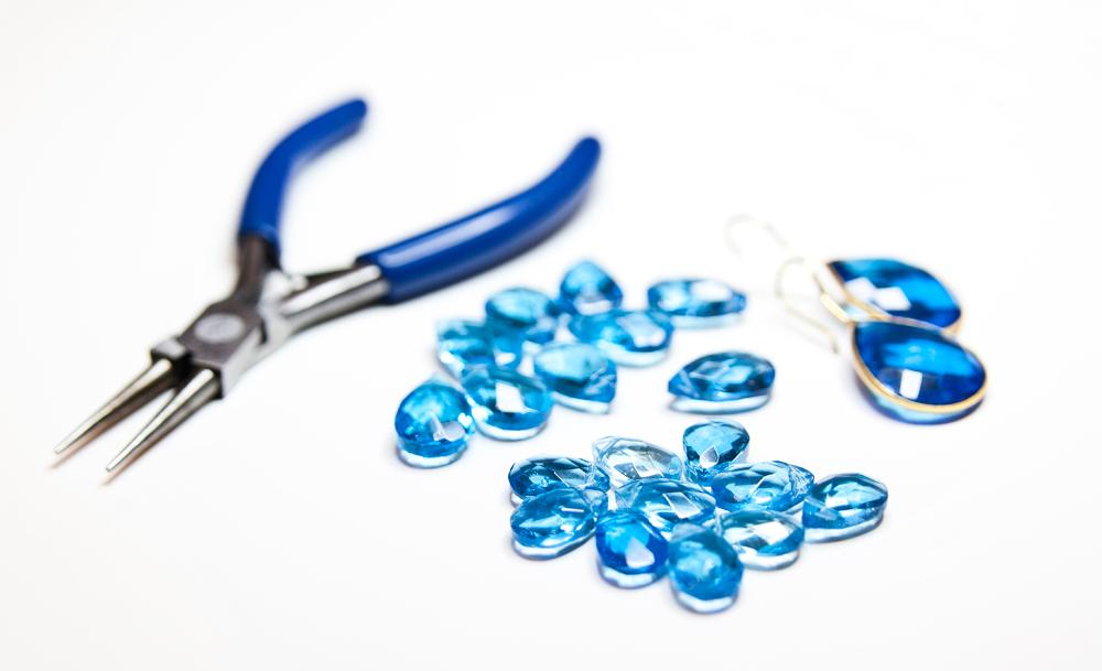 Gemshine Perlen Ohrringe