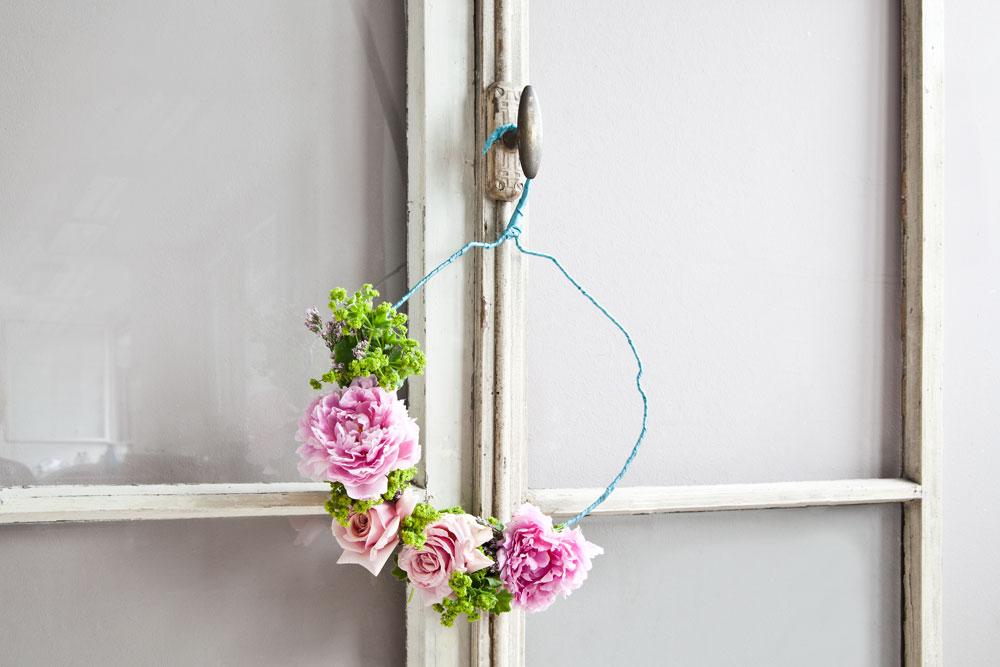 DIY Blumenkranz