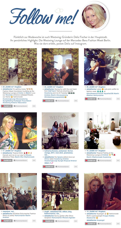 Delia's week on Instagram