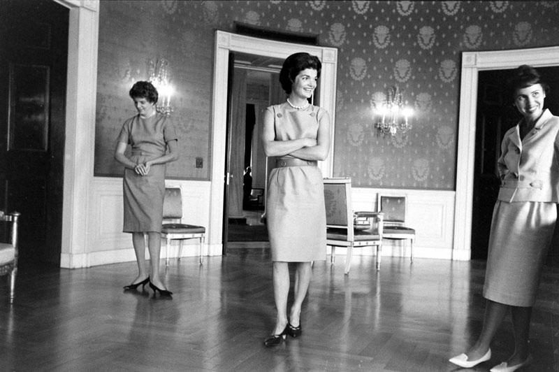 Jackie Kennedy im Weißen Haus Westwing