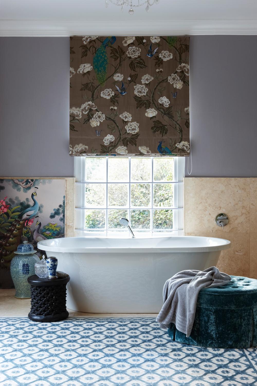 Ethno Style Badezimmer