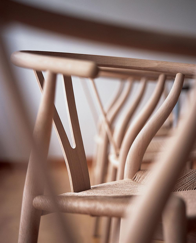 Wishbone Chair Nahaufnahme