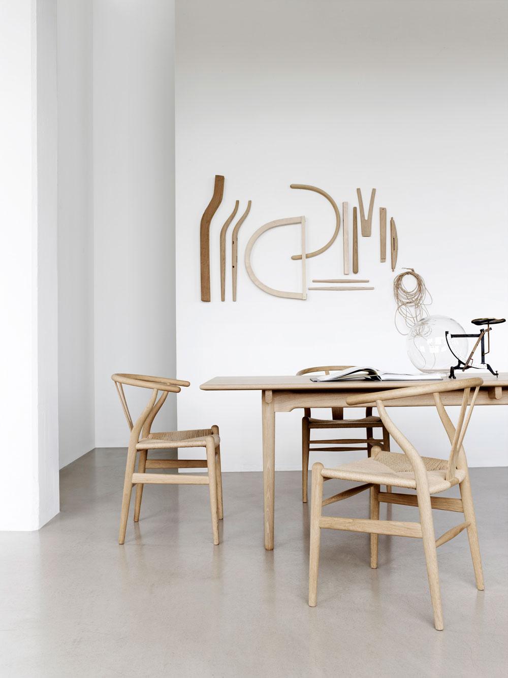 Wishbone Chair Tisch Holz