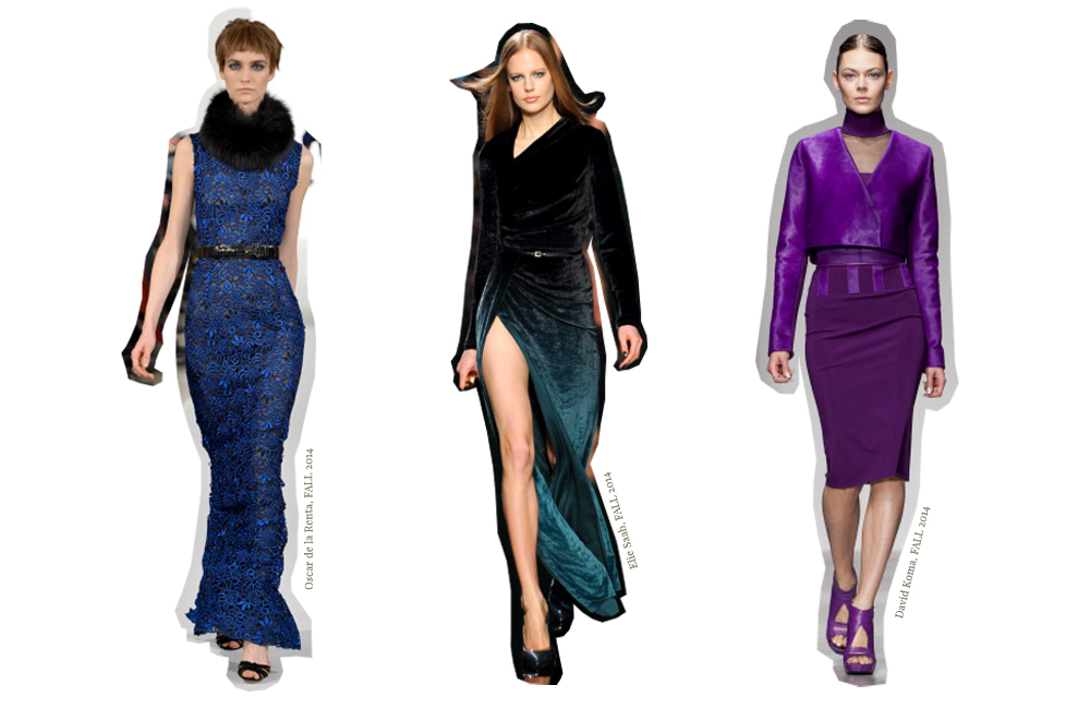 Mode Juwelenfarben