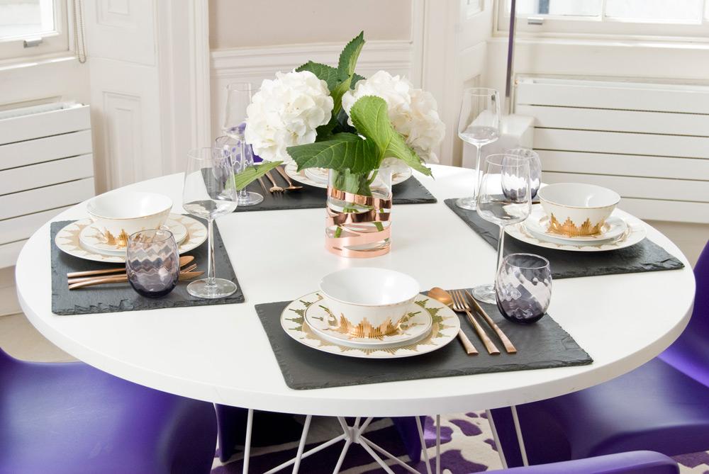 gedeckter Tisch Manuela Stoll