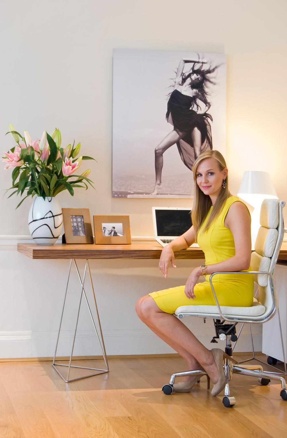 Manuela Stoll Schreibtisch