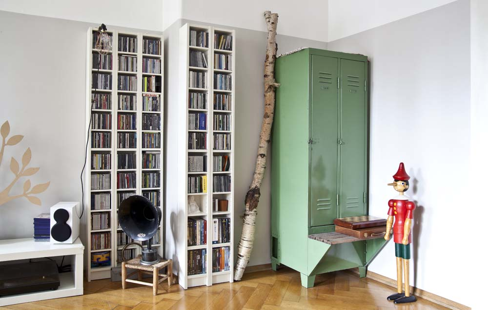 Skandi-Wohnzimmer