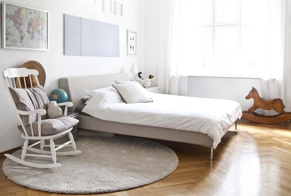 Schlafzimmer im Scandi-Style