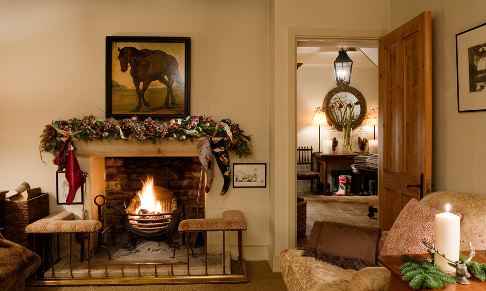 Christmas in Great Britain Keeper's cottage Wohnzimmer