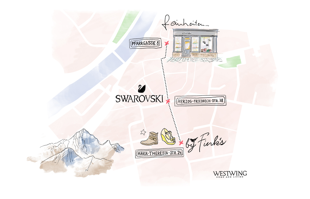 Stadtplan Innsbruck
