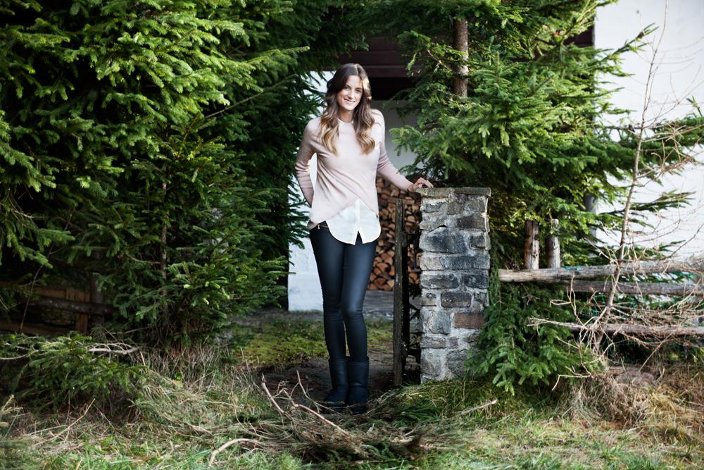 Jelena Enzmann und ihr Weihnachtszauber in Tirol