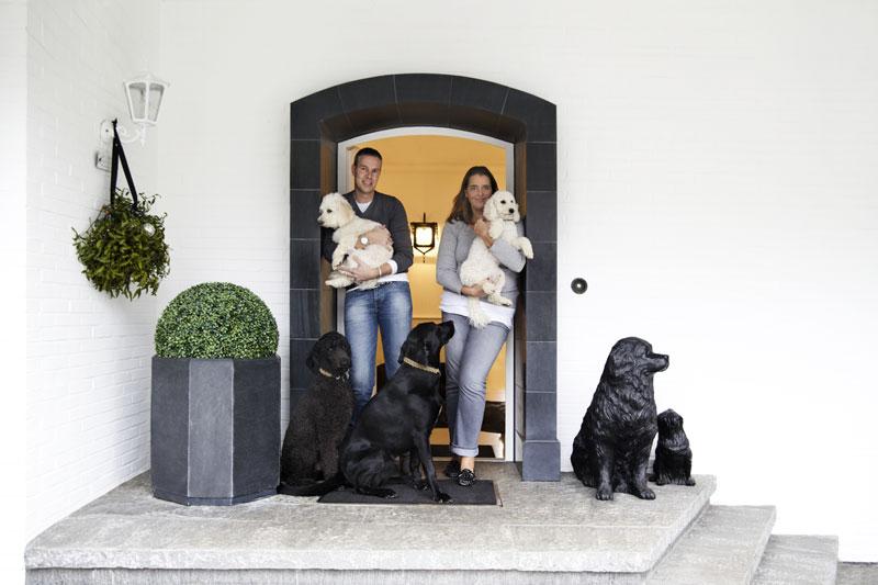 Leben mit Hund Eingangsbereich