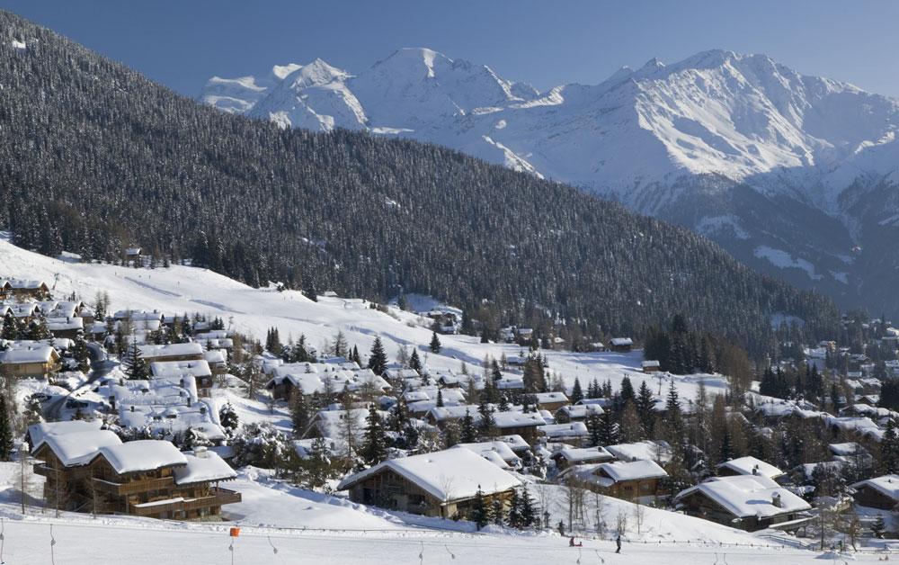 Chalet Verbier Schnee