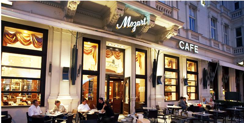 Wiener Kaffeehäuser Café Mozart Aussenansicht