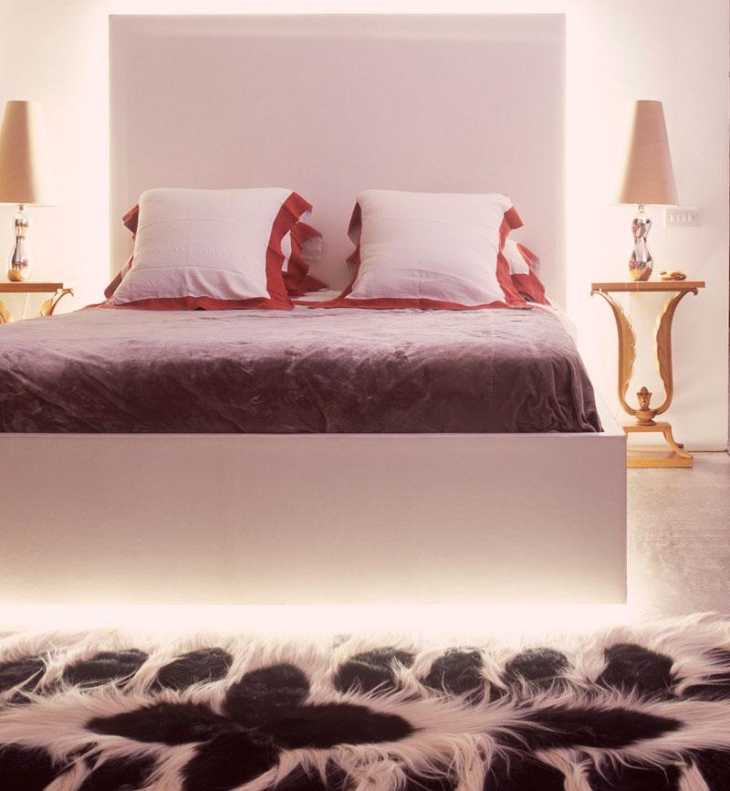 Delia Fischer Schlafzimmer indirekte Beleuchtung