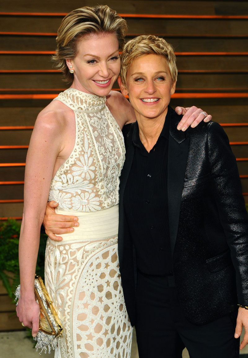 Promi-Paare Ellen und Portia