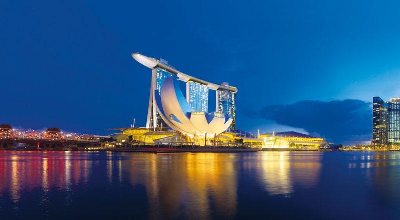 Reisetipps für Interior-Fans Marina Bay Sands