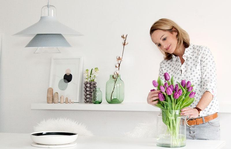 Anja von butiksofie Deko Blumen