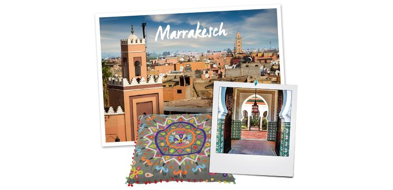 Afrika und seine Interior-Stile Marrakesch