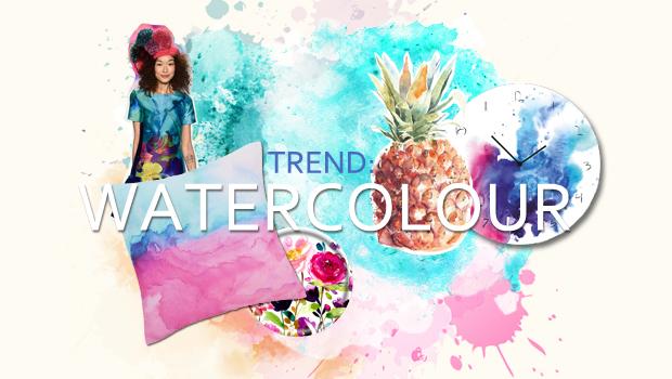 Trendbarometer Wasserfarben