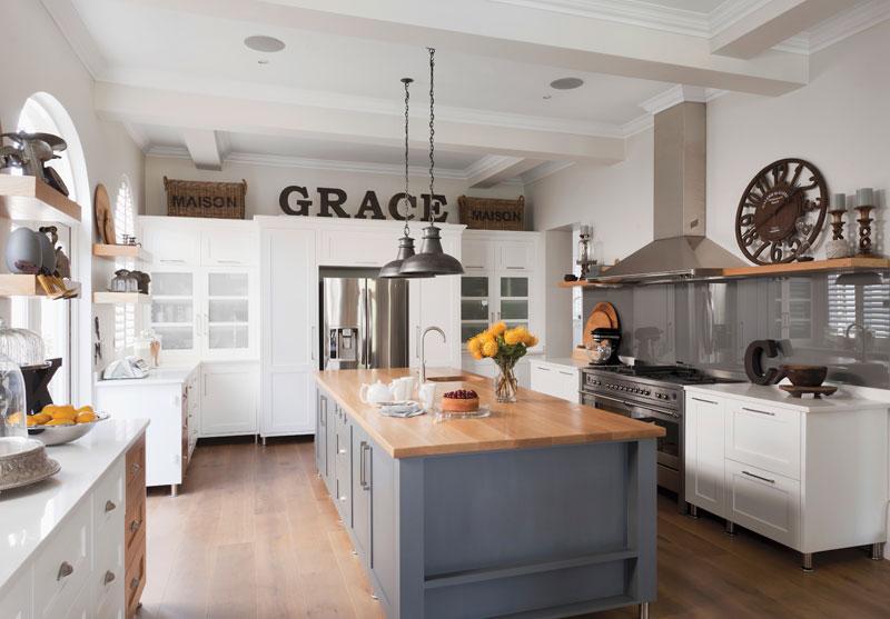 Das Küchenquiz Landhausküche
