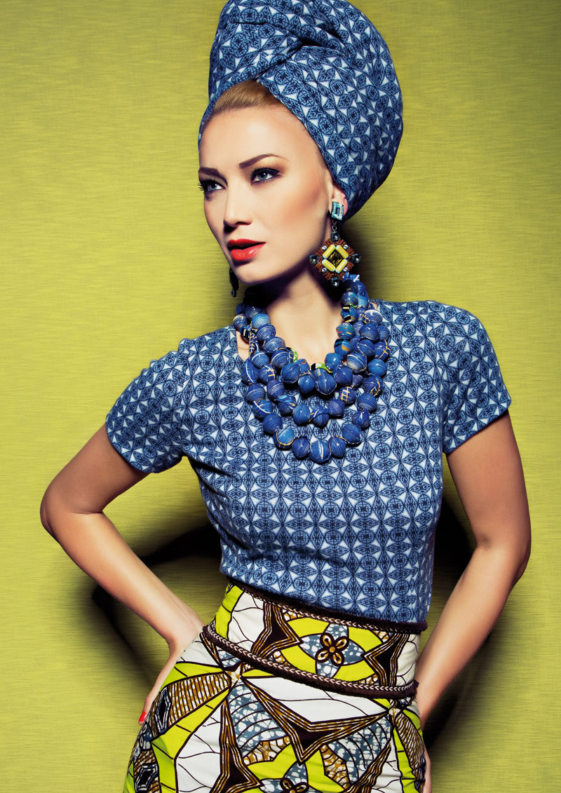 Lena Hoschek Spring/Summer 15 Hot Mama Afrika