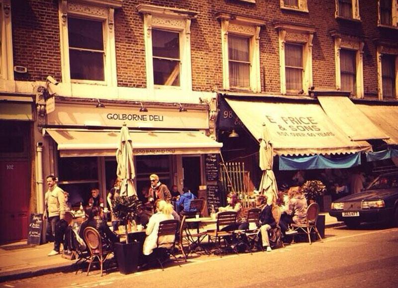 Notting Hill Markt Golborne Road
