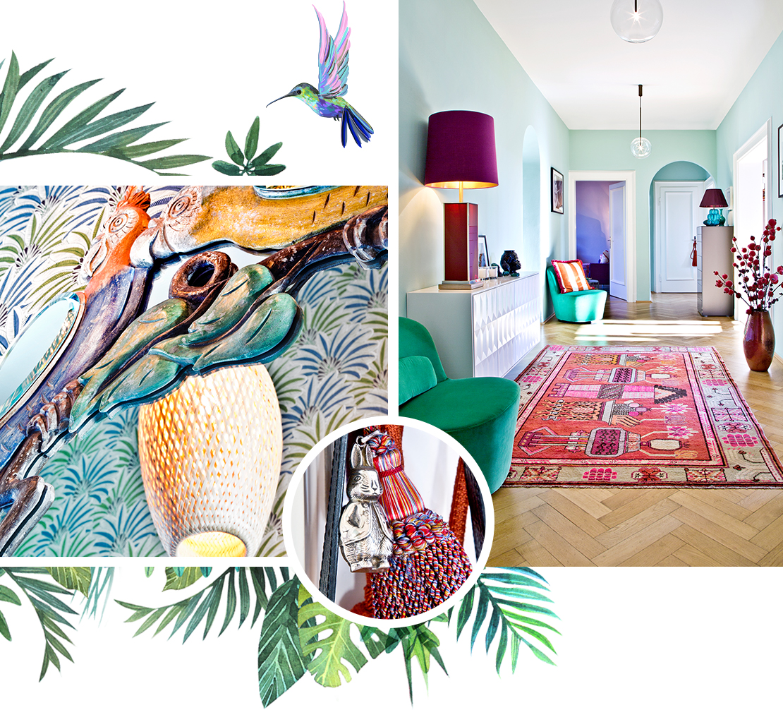 Andrea-Kehl-Homestory- Flur-Muster