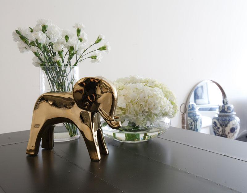 Willkommen in New York bei Bo Mulder Blumen Elefant