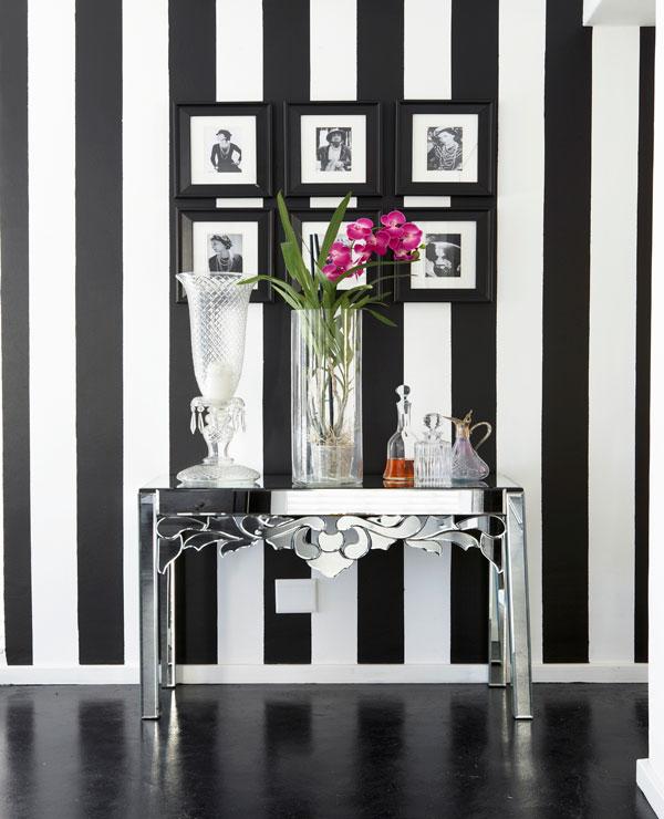 Die sch nsten schwarz wei interiors westwing magazin for Tapeten schwarz weiss