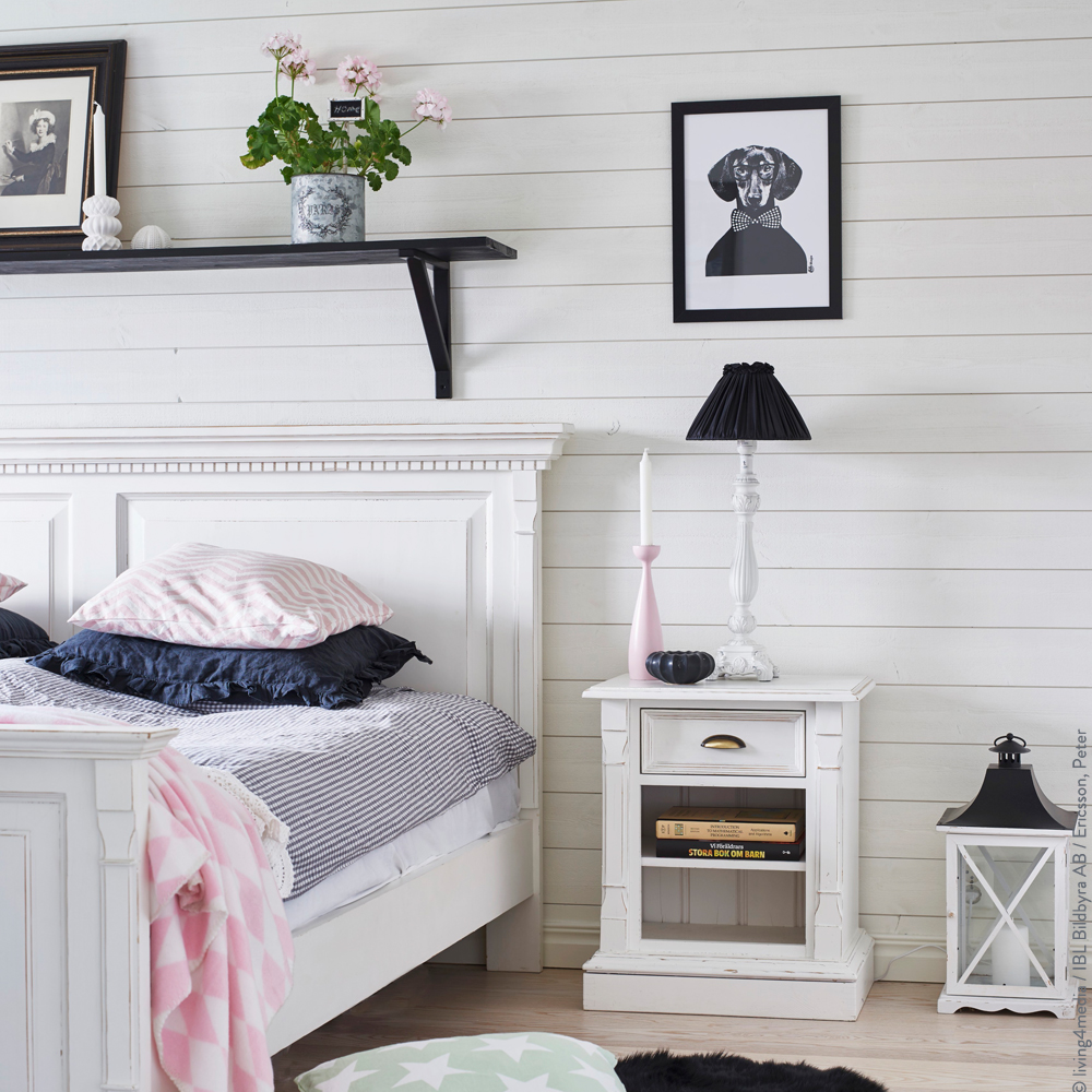 schlafzimmer im scandi style westwing magazin. Black Bedroom Furniture Sets. Home Design Ideas