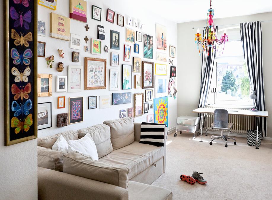 Wohnzimmer Bilderwand Ihre Wohnideen