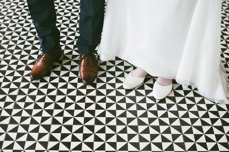 Heiraten Paare Schuhe Hochzeit