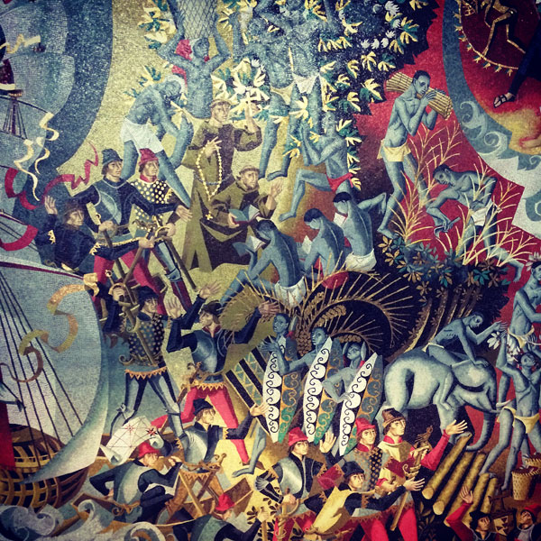 Mosaik mit der kolonialen vergangenheit Portugal Lissabon Westwing