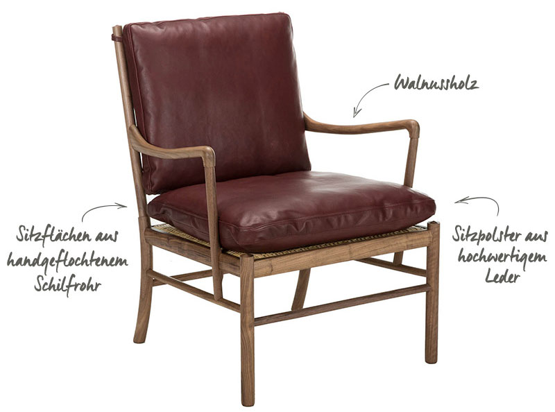 Ole Wanscher Colonial Chair Westwing