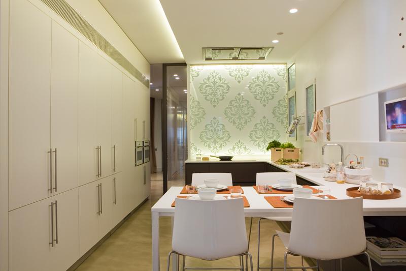 Hausbesuch Barcelona Küche
