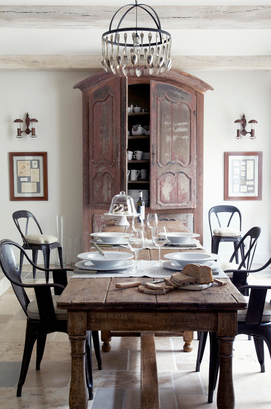 Stilmix country meets modern glamour im westwing magazin - Sala da pranzo country ...