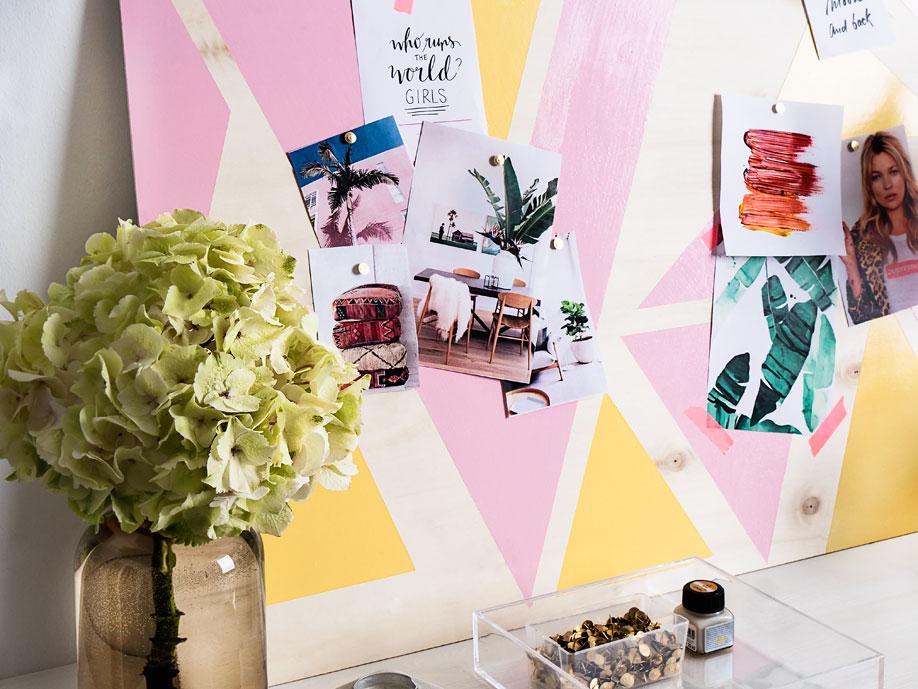 Westwing-DIY-Pastell-Pinnwand-Blumen