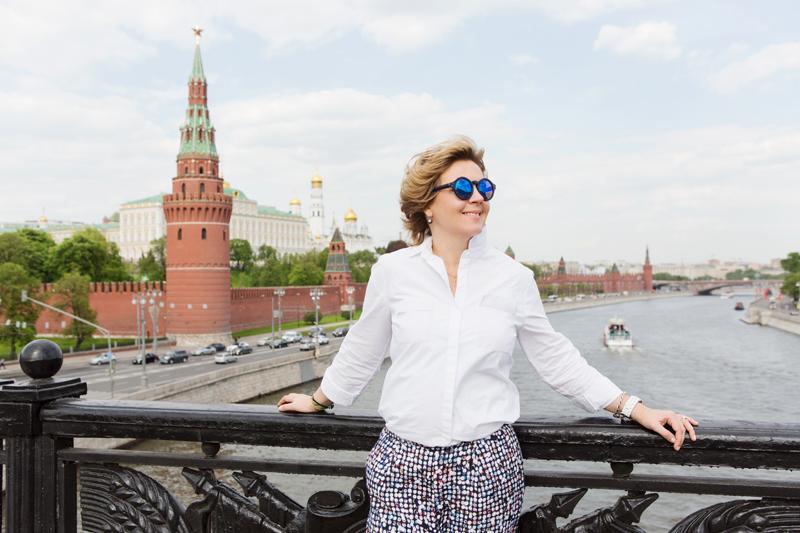 Irina Kuznetsova in Moskau