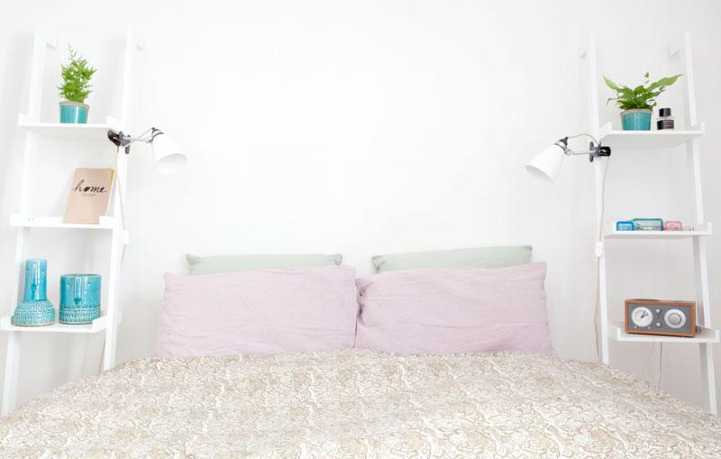 Schlafzimmer von ELise in Paris